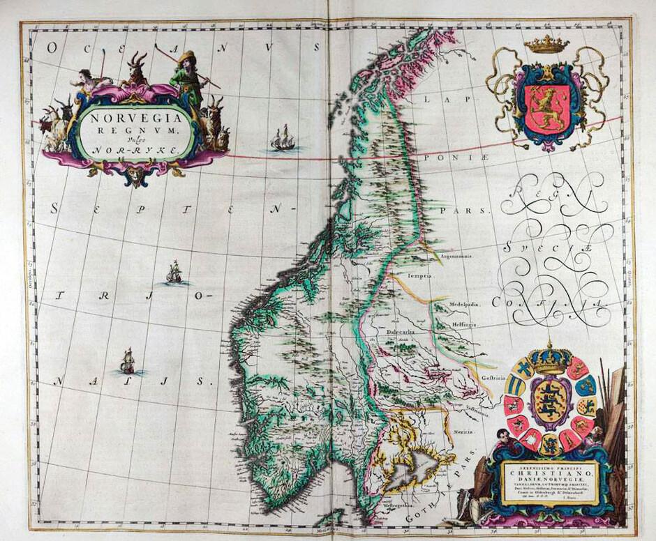 norge i bilder kart Kart Norge norge i bilder kart