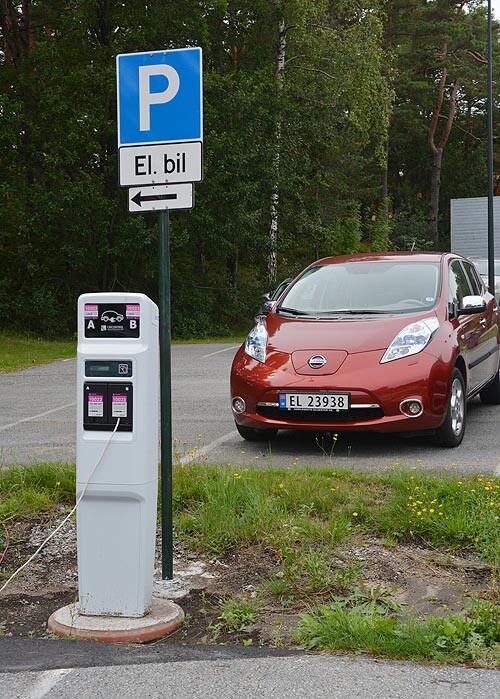 Strømgivende lade app for el bilene Universitetet i Agder