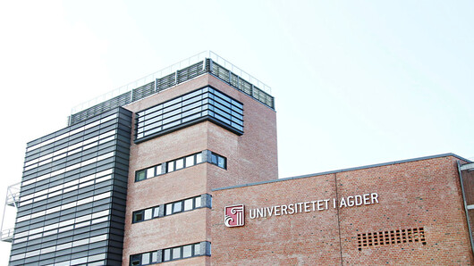 University of Agder main building, photo