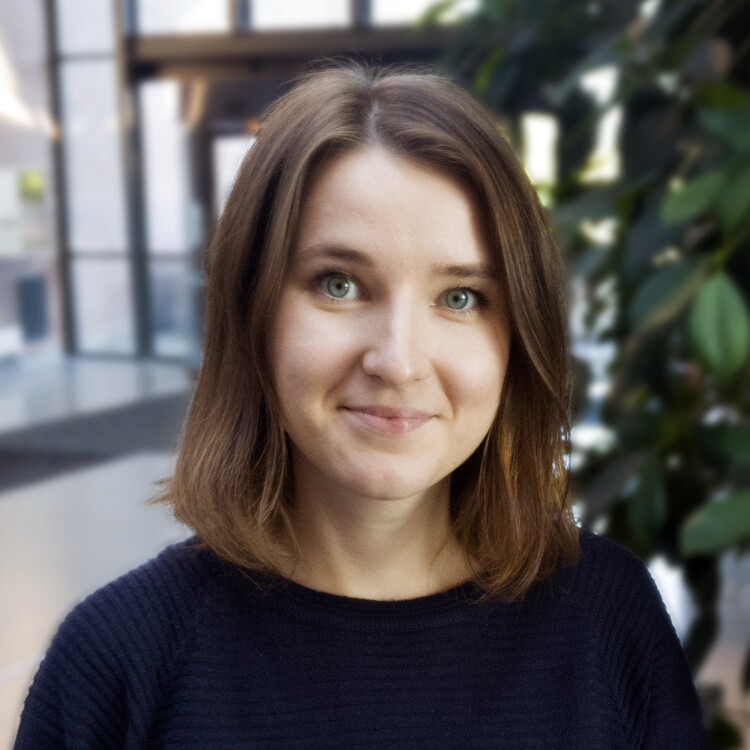 "Aleksandra Lazareva disputerer for ph.d.-graden med avhandlingen ""Facilitating Student Engagement in the Context of Computer-Supported Collaborative Learning"" torsdag 27. September 2018. (Foto: Privat)"