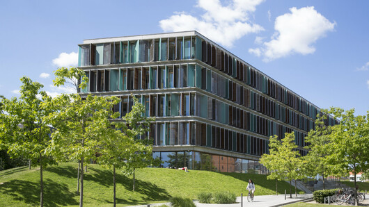Copenhagen Business school campus, illustrasjon