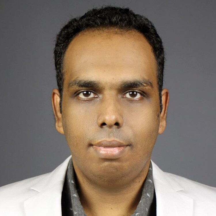 "Harsha Sandaruwan  Gardiyawasam Pussewalage disputerer for ph.d.-graden med avhandlingen ""Attribute Based Cryptographic Enforcements for Security and Privacy in E-health environments"" torsdag 2. mai 2019.  (Foto: Privat)"