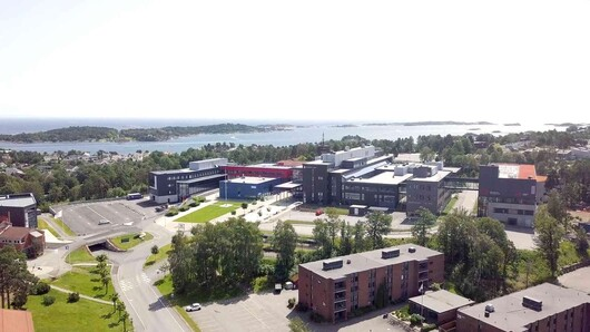Photo of Campus Grimstad.