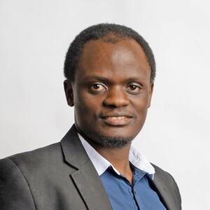 "Yves Teganya of the Faculty of Engineering and Science at the University of Agder has submitted his thesis entitled ""Machine Learning Tools for Radio Map Estimation in Fading-Impaired Channels"" and will defend the thesis for the PhD-degree Friday 13 November 2020. (Photo: Private)"