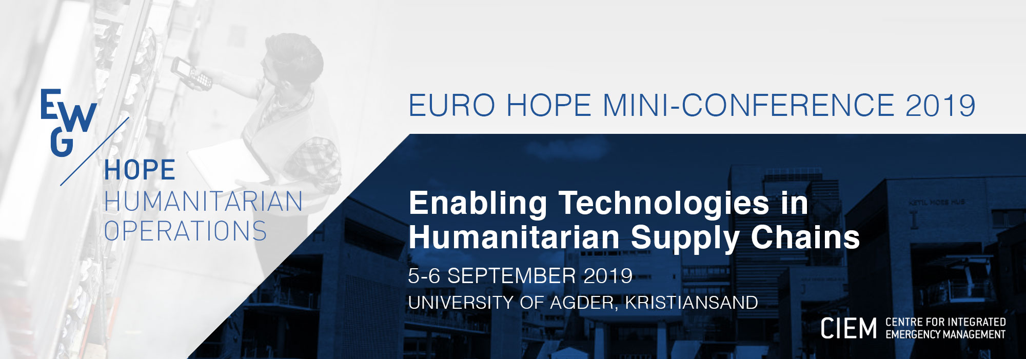 EURO HOPE MINI-CONFERENCE 2019 - Universitetet i Agder