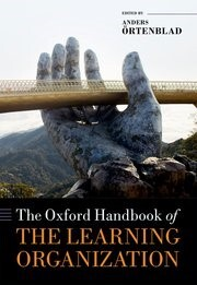 "Picture of the book ""The Oxford Handbook of the Learning Organization""."