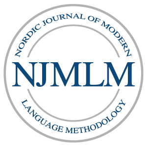 Logo Nordic Journal of Modern Language Methodology