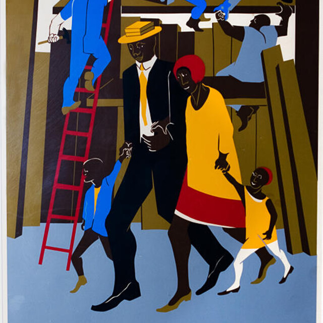 Jacob Lawrence, The Builders