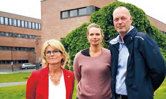 Hanne Haaland, Mikaela Vasstrøm og Hans Kjetil Lysgård, foto