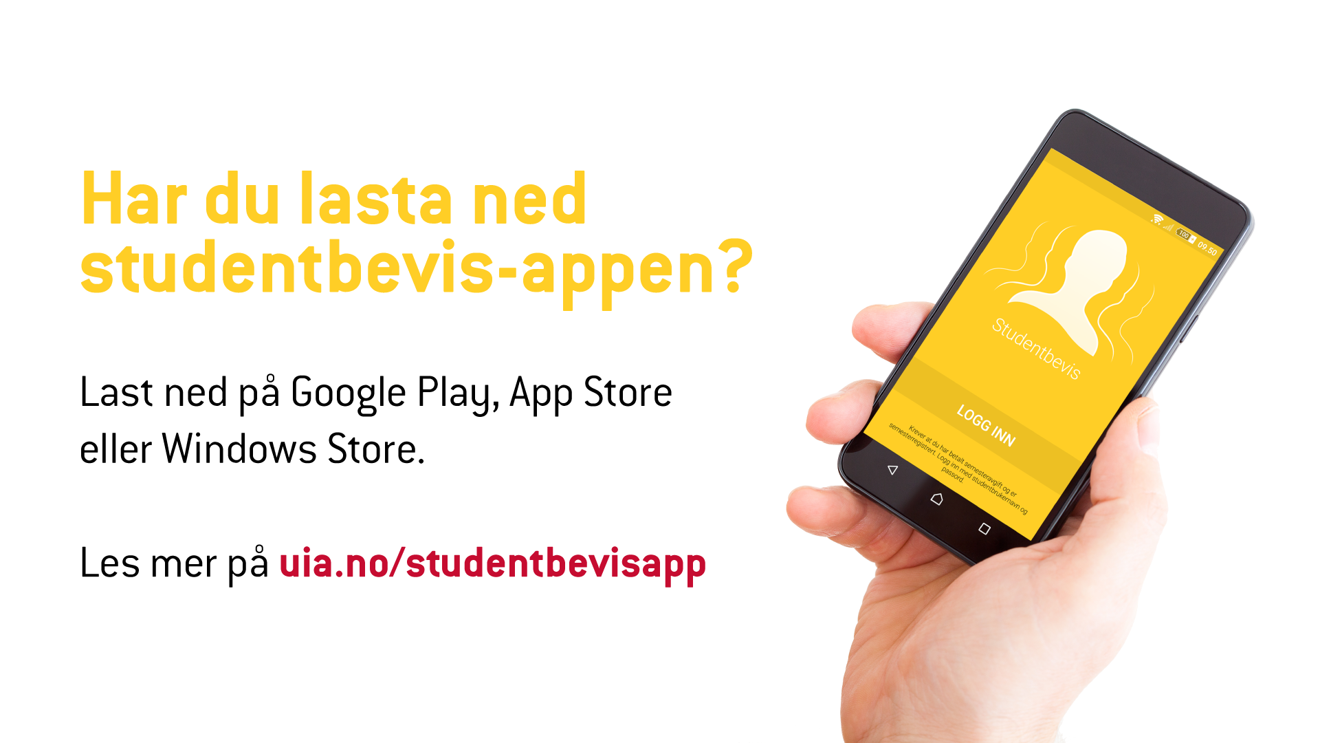 Studentbevisappen, last ned