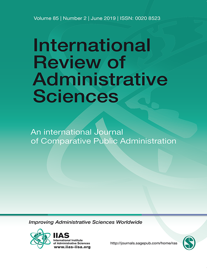 International Review of Administrative Sciences 85(2): 247-263